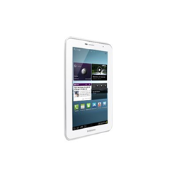 "Tablette tactile Samsung Galaxy Tab 2 (7.0) WiFi - Tablette - Android 4.0 - 8 Go - 7"" PLS (1024 x 600) - Logement microSD - blanc"