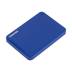 Hard disk esterno Toshiba - Canvio connect ii blue