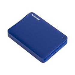 Hard disk esterno Toshiba - Canvio connect ii blue