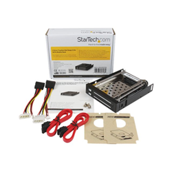 Box hard disk esterno Startech.com backplane per rack mobile sata hot swap 2,5 '' a 2 unità hsb220sat