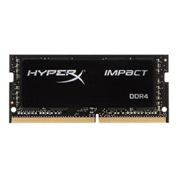 Memoria RAM Gaming HyperX - Impact - ddr4 - 8 gb - so dimm 260-pin - senza buffer hx424s14ib2/8