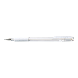 Penna Pentel - Cf12roller gel hybridluna 0.8 bianc