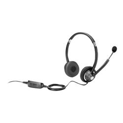 HP UC Wired Headset - Casque - sur-oreille - pour Elite x2; EliteBook; Pro x2; ProBook; Stream Pro 14 G3; x2; ZBook 17 G3, Studio G3