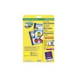 Etichette Zweckform etichette 1625 etichette 38.1 x 21.2 mm l7651y 25