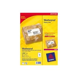Etichette Zweckform l7992 - etichette di spedizione - 250 etichette l7992-25