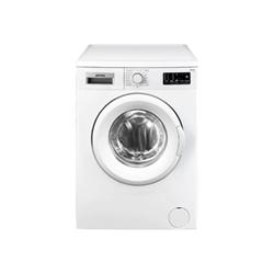 Lave-linge Smeg LBW508CIT - Machine à laver - pose libre - largeur : 59.7 cm - profondeur : 40 cm - hauteur : 84.5 cm - chargement frontal - 5 kg - 800 tours/min - blanc