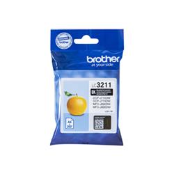 Cartuccia Brother - Nero - originale - cartuccia d'inchiostro lc3211bk