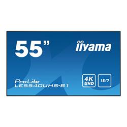 "Monitor LFD IIYAMA - Prolite 55"" classe (54.6"" visualizzabile) display led - 4k le5540uhs-b1"