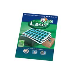 Image of Etichette Copy laser premium - etichette - opaca - 10000 etichette - 37 x 14 mm lp4w-3714