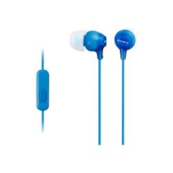 Image of Auricolari con microfono MDR-EX15AP Blu