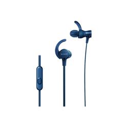 Cuffie con microfono Sony - MDR-XB510AS Blu