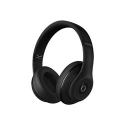 Beats Studio Wireless - Casque avec micro - pleine taille - sans fil - Bluetooth - Suppresseur de bruit actif - noir mat