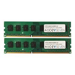Memoria RAM Ddr3 kit 16 gb: 2 x 8 gb dimm a 240 pin v7k1280016gbd lv