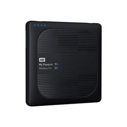 Hard disk esterno Western Digital - Wd my passport wireless pro wdbvpl0010bbk - unità di rete wdbvpl0010bbk-eesn