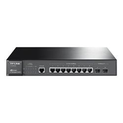 Switch TP-LINK - T2500g-10ts - switch - 8 porte - gestito t2500g-10ts(tl-sg3210)