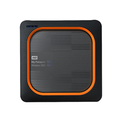 Hard disk esterno Western Digital - Wd my passport wireless ssd wdbamj0020bgy wdbamj0020bgy-eesn