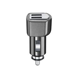 Caricabatteria Cellular Line - Usb car charger dual ultra adattatore alimentazione per auto microcbrusbdual3a