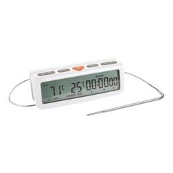 Termometro da forno Tescoma - Termometro Digitale da Forno con Timer Accura
