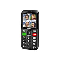 Telefono cellulare Brondi - Amico chic - nero - gsm - cellulare 10274061