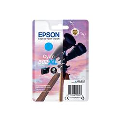 Cartuccia Epson - 502xl - alta capacità - ciano - originale - cartuccia d'inchiostro c13t02w24010