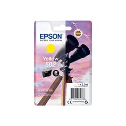 Cartuccia Epson - 502 - giallo - originale - cartuccia d'inchiostro c13t02v44010