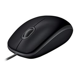 Mouse Logitech - B110 silent - mouse - usb 910-005508
