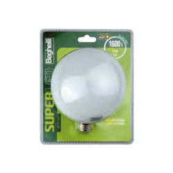 Lampadina LED BEGHELLI - Super led globo e27 16w 3000 k