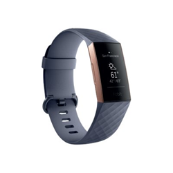 Smartwatch Fitbit - Charge 3 - oro rosa fb409rggy-eu