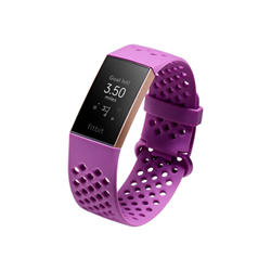 Smartwatch Fitbit - Charge 3 - oro rosa fb409rgmg