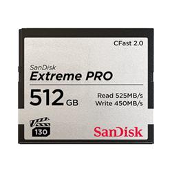 Micro SD Sandisk - Extreme pro - scheda di memoria flash - 512 gb - cfast 2.0 sdcfsp-512g-g46d