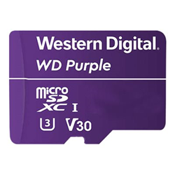 Micro SD Western Digital - Wd purple - scheda di memoria flash - 128 gb - microsdxc wdd128g1p0a