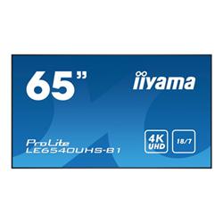 "Monitor LFD IIYAMA - Prolite 65"" classe (64.6"" visualizzabile) display led - 4k le6540uhs-b1"