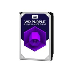 Hard disk interno Western Digital - Wd purple surveillance hard drive - hdd - 12 tb - sata 6gb/s wd121purz