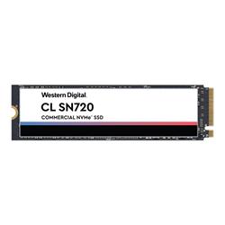 SSD Wd cl sn720 nvme ssd ssd 1 tb pci express 3.0 x4 (nvme) sdaqntw 1t00 2000