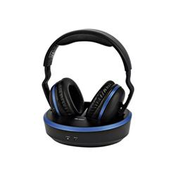 Cuffie TV Meliconi - HP COMFORT 497310 Padiglione auricolare Nero, Blu
