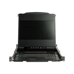 """Startech - Startech.com console kvm per rack hd da 17"""" - supporto dvi & vga rkcond17hd"""