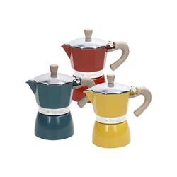 Macchina da caffè TOGNANA - Caffettiera Vintage 3 tazze Multicolore
