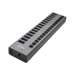 I-TEC - Usb 3.0 charging hub 16 port + power adapter 90 w - hub - 16 porte u3chargehub16