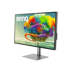 "Monitor LED BenQ - Designvue pd2720u - pd series - monitor a led - 4k - 27"" 9h.lhkla.tbe"