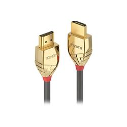 Cavo HDMI Lindy - Gold line hdmi con cavo ethernet - 3 m 37863