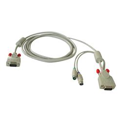 Switch kvm Combined kvm cable cavo tastiera / video / mouse (kvm) 2 m 32506