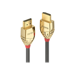 Cavo HDMI Lindy - Gold line high speed hdmi with ethernet - hdmi con cavo ethernet - 50 cm 37860