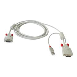 Switch kvm Combined kvm cable cavo tastiera / video / mouse (kvm) 2 m 33531