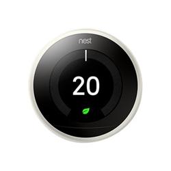 nest termostato intelligente learning thermostat - 3a generazione - nero t3030ex