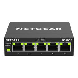 Switch Netgear - Gs305e - switch - 5 porte - intelligente gs305e-100pes