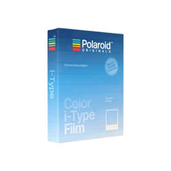Pellicola Polaroid - Originals - summer blues edition pellicola istantanea a colori itypefilmblue