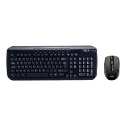 Tastiera ADJ - Shine kit wireless kw118 - set mouse e tastiera - italiano - nero 520-00018