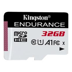 Micro SD Kingston - High endurance - scheda di memoria flash - 32 gb - uhs-i microsdhc sdce/32gb
