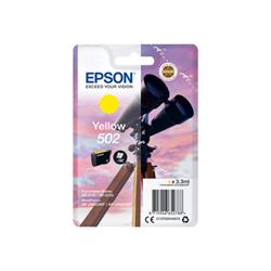 Cartuccia Epson - 502 - giallo - originale - cartuccia d'inchiostro c13t02v44020
