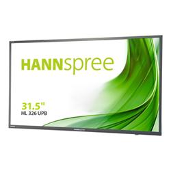 "Monitor LED Hannspree - Hl series - monitor a led - full hd (1080p) - 32"" hl326upb"